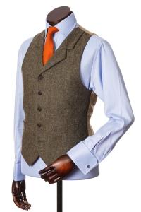 Walker Slater tweed waistcoat / vest
